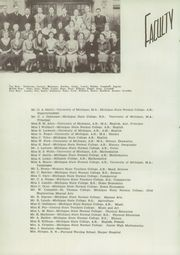Page 10, 1937 Edition, Plymouth High School - Plythean Yearbook (Plymouth, MI) online yearbook collection