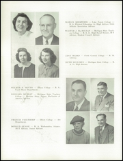 Page 14, 1950 Edition, Petoskey High School - Observer Yearbook (Petoskey, MI) online yearbook collection