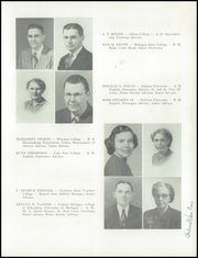 Page 15, 1950 Edition, Petoskey High School - Observer Yearbook (Petoskey, MI) online yearbook collection