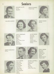 Page 12, 1954 Edition, Vicksburg High School - Barker Yearbook (Vicksburg, MI) online yearbook collection