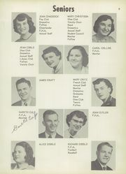 Page 13, 1954 Edition, Vicksburg High School - Barker Yearbook (Vicksburg, MI) online yearbook collection