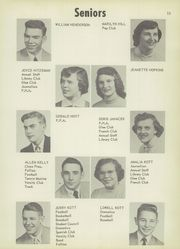 Page 15, 1954 Edition, Vicksburg High School - Barker Yearbook (Vicksburg, MI) online yearbook collection