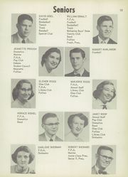 Page 17, 1954 Edition, Vicksburg High School - Barker Yearbook (Vicksburg, MI) online yearbook collection