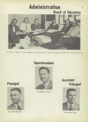 Page 7, 1954 Edition, Vicksburg High School - Barker Yearbook (Vicksburg, MI) online yearbook collection