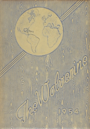 1954 Edition, Godwin Heights High School - Wolverine Yearbook (Grand Rapids, MI)
