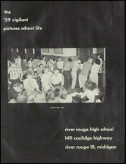 Page 5, 1959 Edition, River Rouge High School - Vigilant Yearbook (River Rouge, MI) online yearbook collection