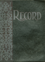 1924 Edition, Menominee High School - Record Yearbook (Menominee, MI)
