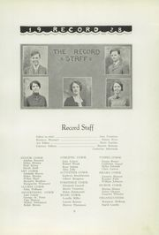 Page 13, 1928 Edition, Menominee High School - Record Yearbook (Menominee, MI) online yearbook collection