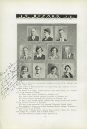 Page 16, 1928 Edition, Menominee High School - Record Yearbook (Menominee, MI) online yearbook collection