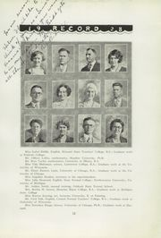 Page 17, 1928 Edition, Menominee High School - Record Yearbook (Menominee, MI) online yearbook collection