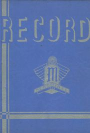 1936 Edition, Menominee High School - Record Yearbook (Menominee, MI)