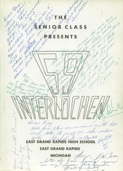 Page 5, 1959 Edition, East Grand Rapids High School - Interlochen Yearbook (East Grand Rapids, MI) online yearbook collection