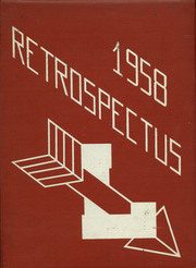1958 Edition, Lowell High School - Retrospectus Yearbook (Lowell, MI)