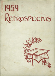 1959 Edition, Lowell High School - Retrospectus Yearbook (Lowell, MI)