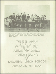 Page 3, 1948 Edition, Chesaning Union High School - Indian Yearbook (Chesaning, MI) online yearbook collection