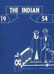 1954 Edition, Chesaning Union High School - Indian Yearbook (Chesaning, MI)