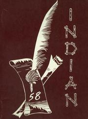 1958 Edition, Chesaning Union High School - Indian Yearbook (Chesaning, MI)