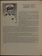 Page 10, 1970 Edition, Truxtun (DLGN 35) - Naval Cruise Book online yearbook collection