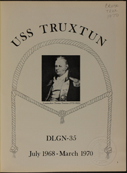 Page 5, 1970 Edition, Truxtun (DLGN 35) - Naval Cruise Book online yearbook collection