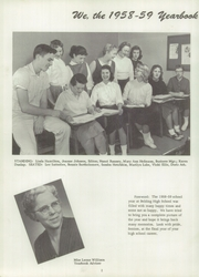 Page 6, 1959 Edition, Belding High School - Redskin Yearbook (Belding, MI) online yearbook collection