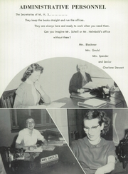 Page 12, 1958 Edition, Millington High School - Cardinal Yearbook (Millington, MI) online yearbook collection