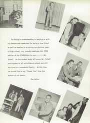 Page 7, 1958 Edition, Millington High School - Cardinal Yearbook (Millington, MI) online yearbook collection