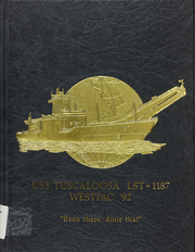 1992 Edition, Tuscaloosa (LST 1187) - Naval Cruise Book