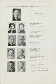 Page 14, 1937 Edition, Mount Morris High School - Morrissonian Yearbook (Mount Morris, MI) online yearbook collection