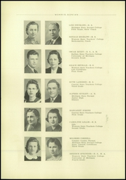 Page 14, 1941 Edition, Mount Morris High School - Morrissonian Yearbook (Mount Morris, MI) online yearbook collection