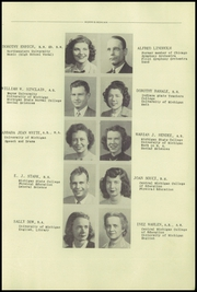Page 15, 1950 Edition, Mount Morris High School - Morrissonian Yearbook (Mount Morris, MI) online yearbook collection