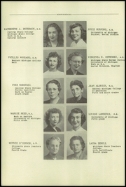 Page 16, 1950 Edition, Mount Morris High School - Morrissonian Yearbook (Mount Morris, MI) online yearbook collection