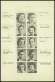 Page 13, 1951 Edition, Mount Morris High School - Morrissonian Yearbook (Mount Morris, MI) online yearbook collection