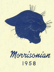Page 1, 1958 Edition, Mount Morris High School - Morrissonian Yearbook (Mount Morris, MI) online yearbook collection
