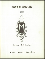 Page 5, 1958 Edition, Mount Morris High School - Morrissonian Yearbook (Mount Morris, MI) online yearbook collection