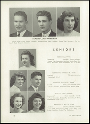 Page 12, 1949 Edition, Bendle High School - Reflector Yearbook (Burton, MI) online yearbook collection