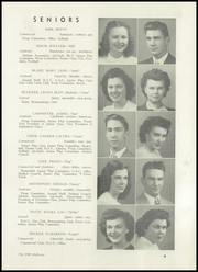 Page 13, 1949 Edition, Bendle High School - Reflector Yearbook (Burton, MI) online yearbook collection
