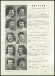 Page 15, 1949 Edition, Bendle High School - Reflector Yearbook (Burton, MI) online yearbook collection