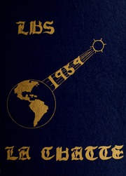 1959 Edition, Lakeview High School - LaChatte Yearbook (Lakeview, MI)