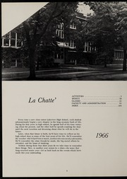 Page 6, 1966 Edition, Lakeview High School - La Chatte Yearbook (Lakeview, MI) online yearbook collection