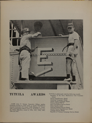 Page 20, 1968 Edition, Tutulia (ARG 4) - Naval Cruise Book online yearbook collection