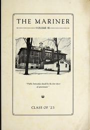 Page 9, 1923 Edition, Marine City High School - Mariner Yearbook (Marine City, MI) online yearbook collection