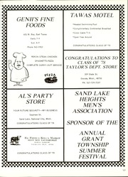 Page 125, 1978 Edition, Tawas Area High School - Brave Impressions Yearbook (Tawas City, MI) online yearbook collection