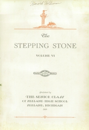 Page 5, 1929 Edition, Zeeland High School - Stepping Stone Yearbook (Zeeland, MI) online yearbook collection