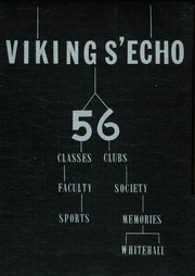1956 Edition, Whitehall High School - Yearbook Yearbook (Whitehall, MI)