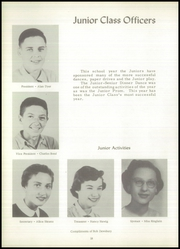 Page 22, 1955 Edition, Bentley High School - Echo Yearbook (Burton, MI) online yearbook collection