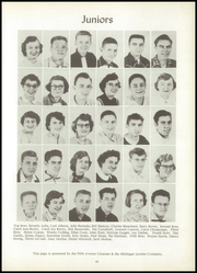 Page 23, 1955 Edition, Bentley High School - Echo Yearbook (Burton, MI) online yearbook collection