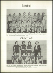 Page 38, 1955 Edition, Bentley High School - Echo Yearbook (Burton, MI) online yearbook collection