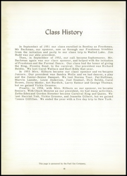 Page 52, 1955 Edition, Bentley High School - Echo Yearbook (Burton, MI) online yearbook collection