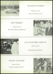 Page 68, 1956 Edition, Bentley High School - Echo Yearbook (Burton, MI) online yearbook collection