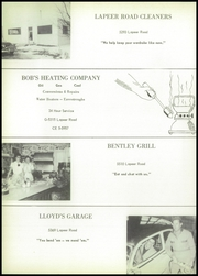 Page 70, 1956 Edition, Bentley High School - Echo Yearbook (Burton, MI) online yearbook collection